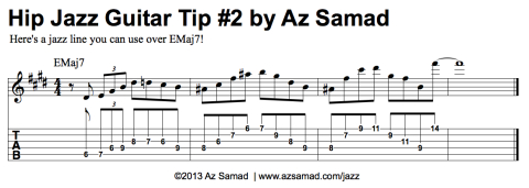 Az Samad || Official Website - Lessons - Hip Jazz Guitar Tips