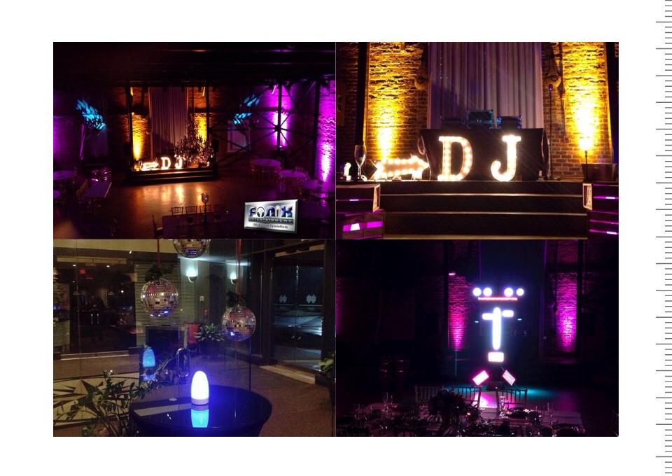 Fonix Entertainment Atlanta Djs Wedding Dj Corporate Events Event Lighting Party Equipment Al