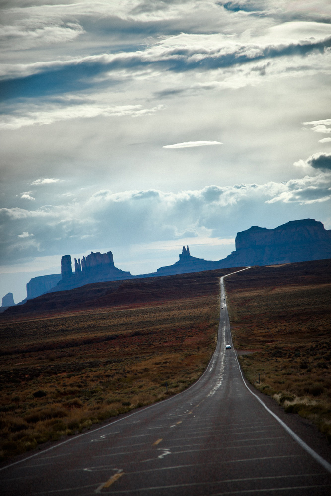 Monument Valley Arizona Highway