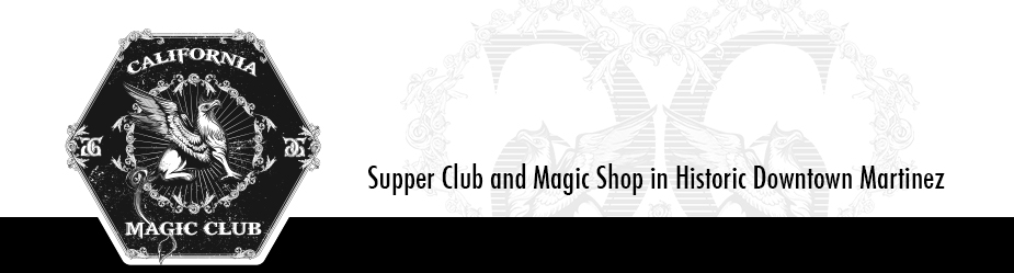 California Magic Dinner Theatre // Supper Club // Magic Dinner Show