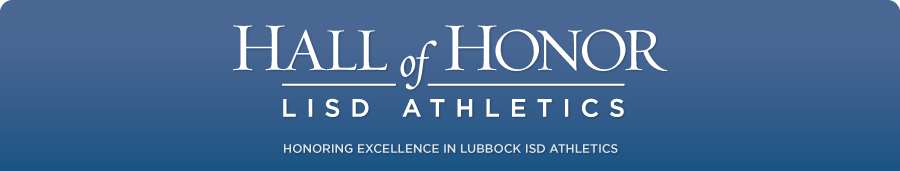 LISD Athletic Hall of Honor