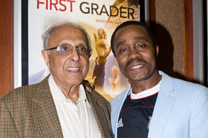 Struggle Veteran Ahmed Kathrada and Actor Vusi Kunene
