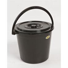 14Lt Bucket Lid Black