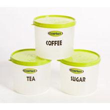 Tea, Coffee, Sugar 1Lt Storers