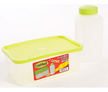 1Lt Lunch Box and Bottle