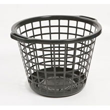 Delta Laundry Basket Black