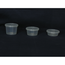 90ml, 70ml & 35ml Disposable Tubs