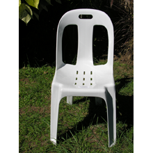 White Stallion Heavy Duty Chair