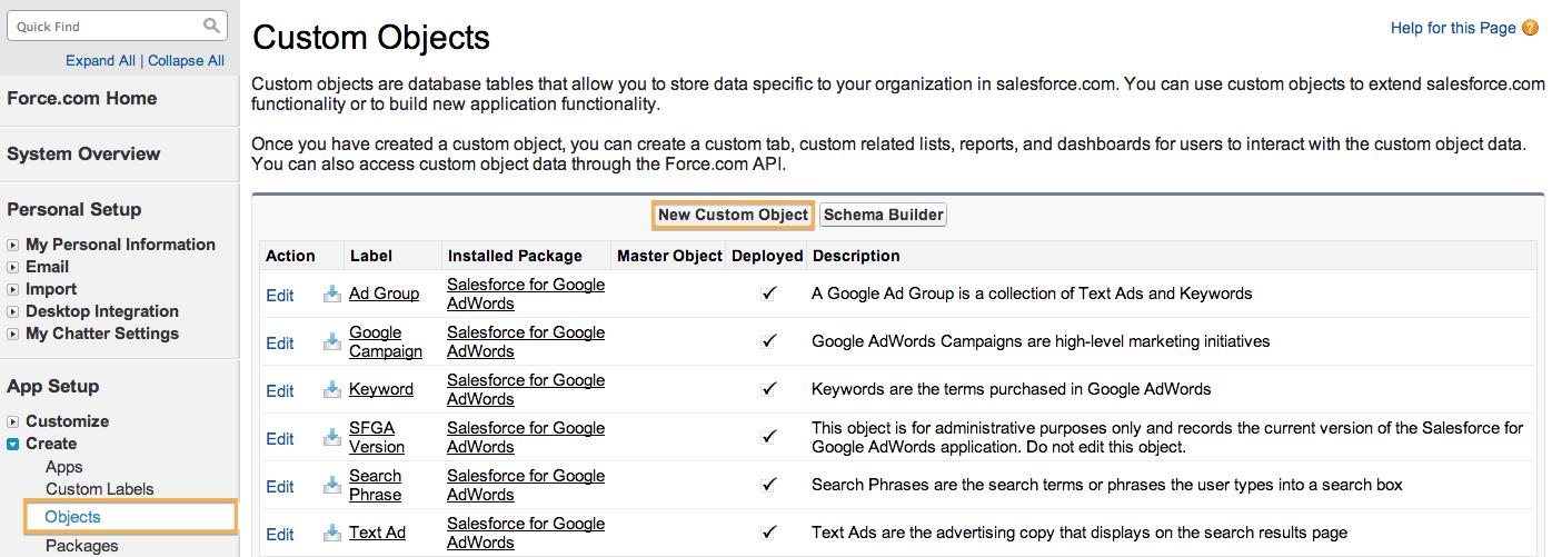 Custom Objects in Salesforce - Salesforce Dev/Admin Topics