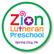 Zion Lutheran Preschool car magnets