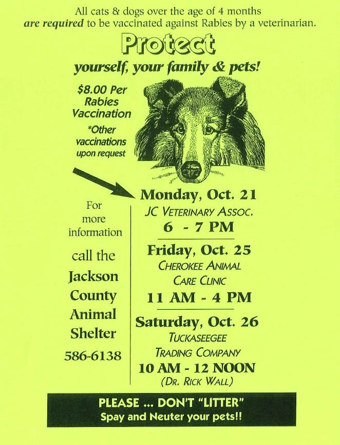 Jackson County Animal Shelter - Home
