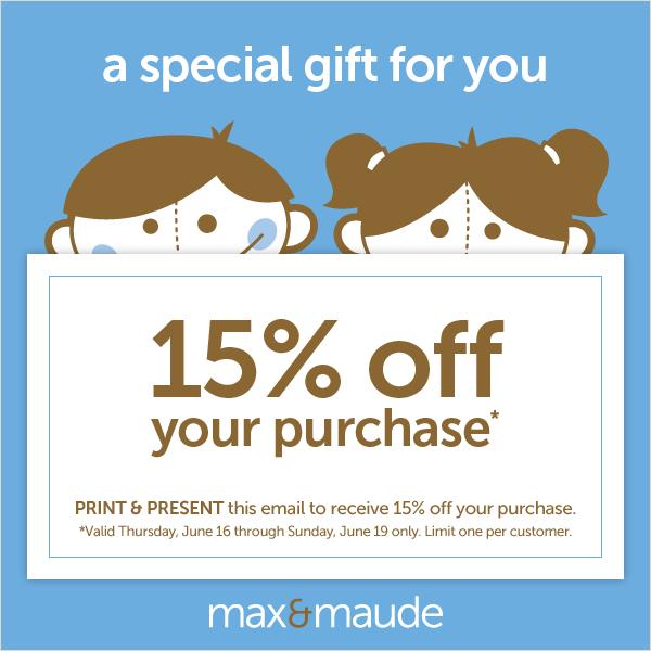 Max Amp Maude Children S Store Opening City And Baby