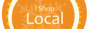 I Shop Local Orange
