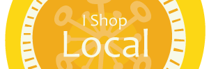 I Shop Local Yellow