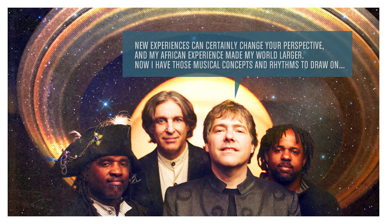 Béla Fleck on Stated Magazine