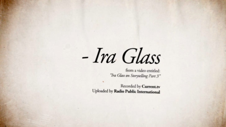 Ira Glass Video