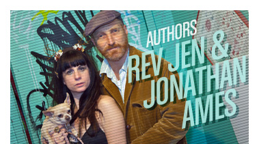 Rev Jen & Jonathan Ames | Writers | Stated Magazine Interview