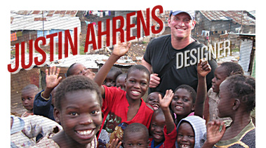 Justin Ahrens | Designer/Humanitarian | Stated Magazine Interview