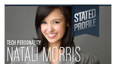 Natali (Del Conte) Morris | Tech Personality | Stated Magazine Profile