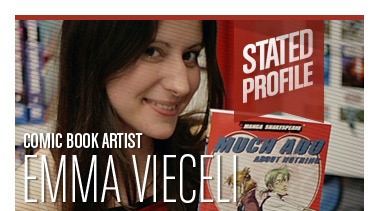 Emma Vieceli | Comic Book Artist | Stated Magazine Profile Interview
