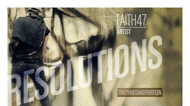 Faith47 | Stated Magazine Resolutions 2013