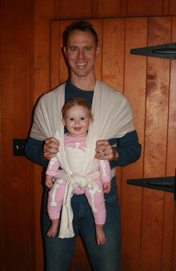 The Moby Baby Carrier