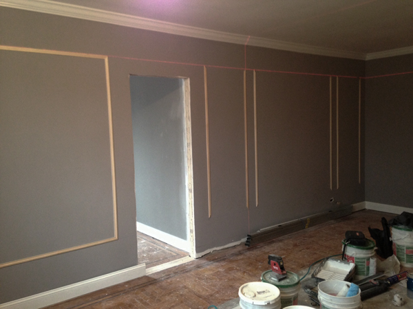 Picture Frame Moulding On Walls apple a day beauty} -jennifer jeng