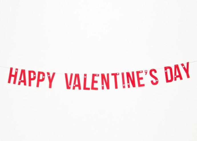 SALLYJSHIM - SALLYJSHIM BLOG - VALENTINE'S DAY PRINTABLES Happy Valentines Day Banner Printable