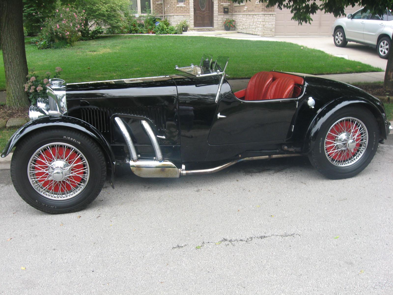 1935 Aston Martin MKII 3rd Series