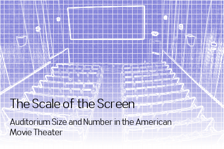 The Scale of the Screen: Auditorium Size and Number in the American Movie Theater