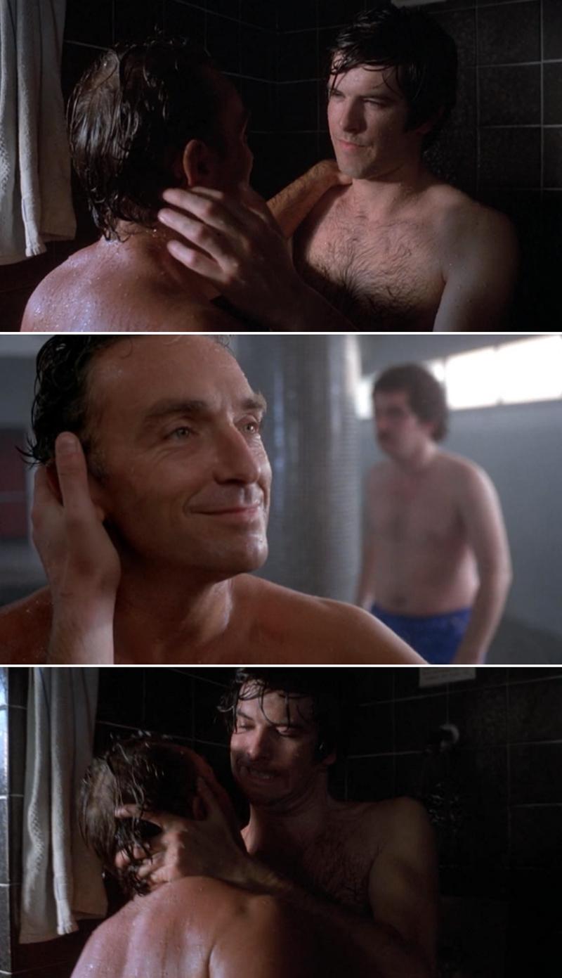 Best gay shower scene, lesbian ebony tube