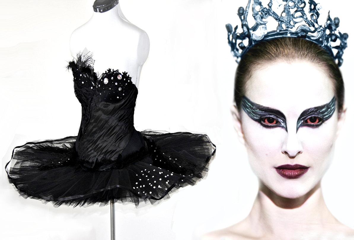black swan kids halloween costume photo1
