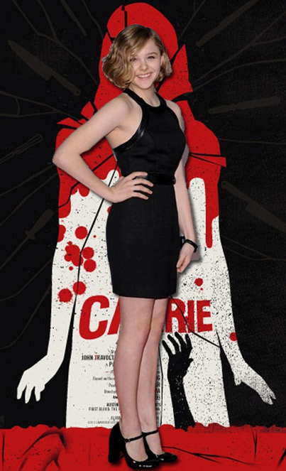 Stupid News Of The Decade Chloe Moretz As Quot Carrie Quot Blog
