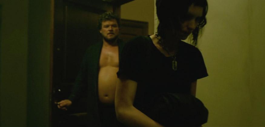 Girl with a dragon tatoo sex scene