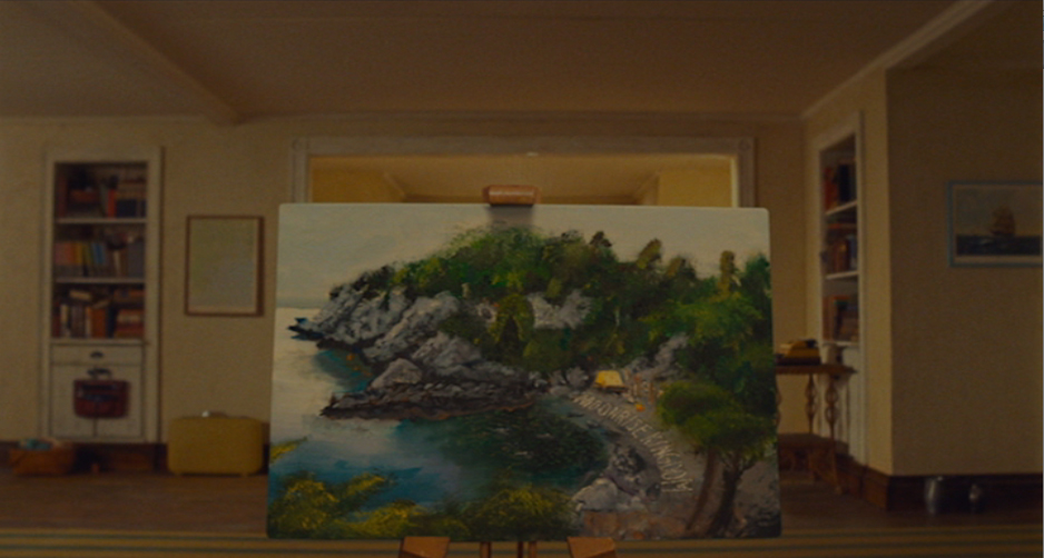 Moonrise Kingdom Painting At The End Moonrise Kingdom shows