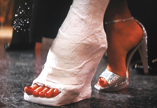 Fetish leg heels movies