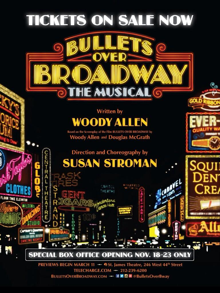 Blog the film experience for The broadway