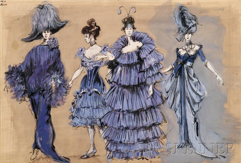16 Days Til Oscar The Costumes of Irene Sharaff , Blog