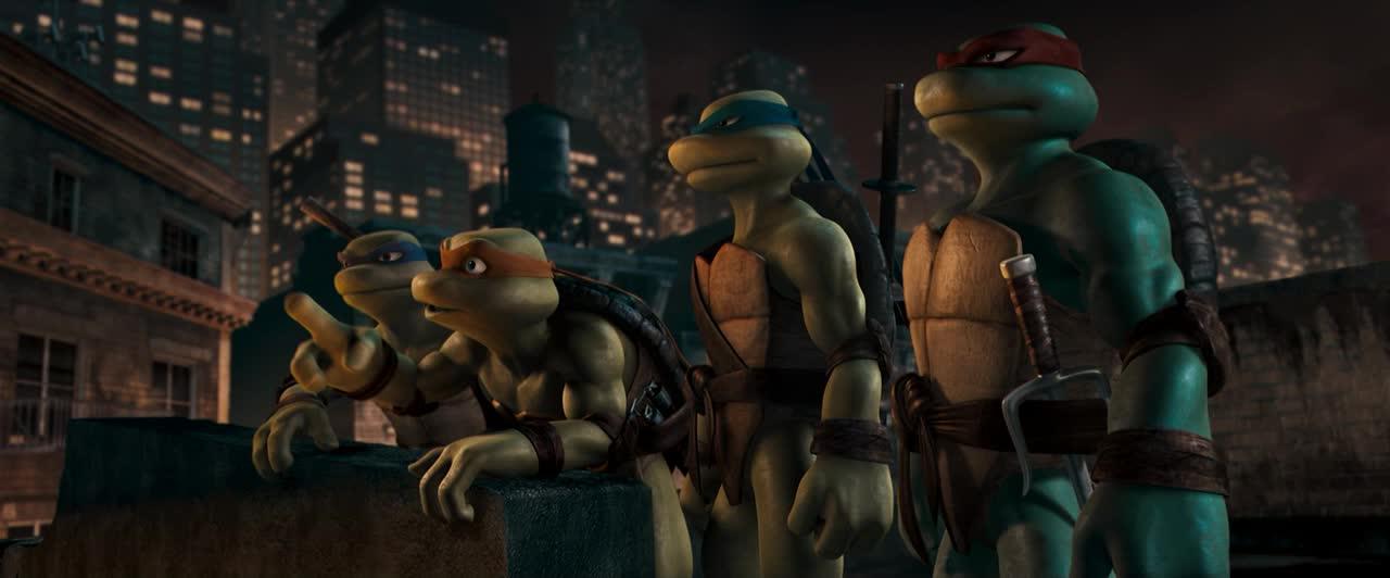 tmnt animated movie 2007