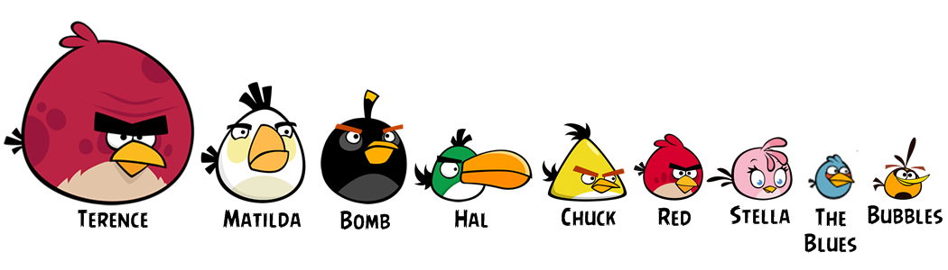 angry birds all characters - photo #6