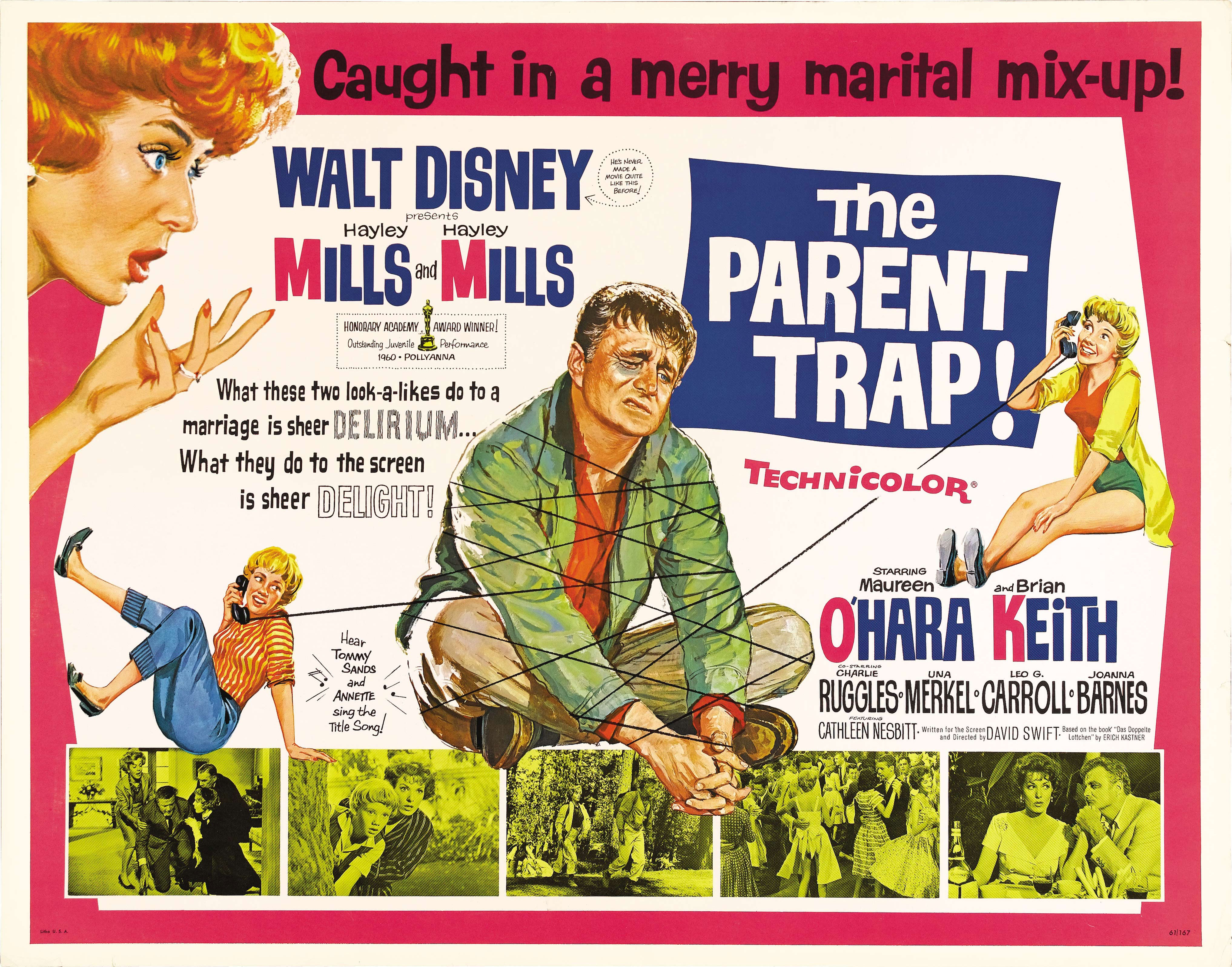 Image result for the parent trap 1961