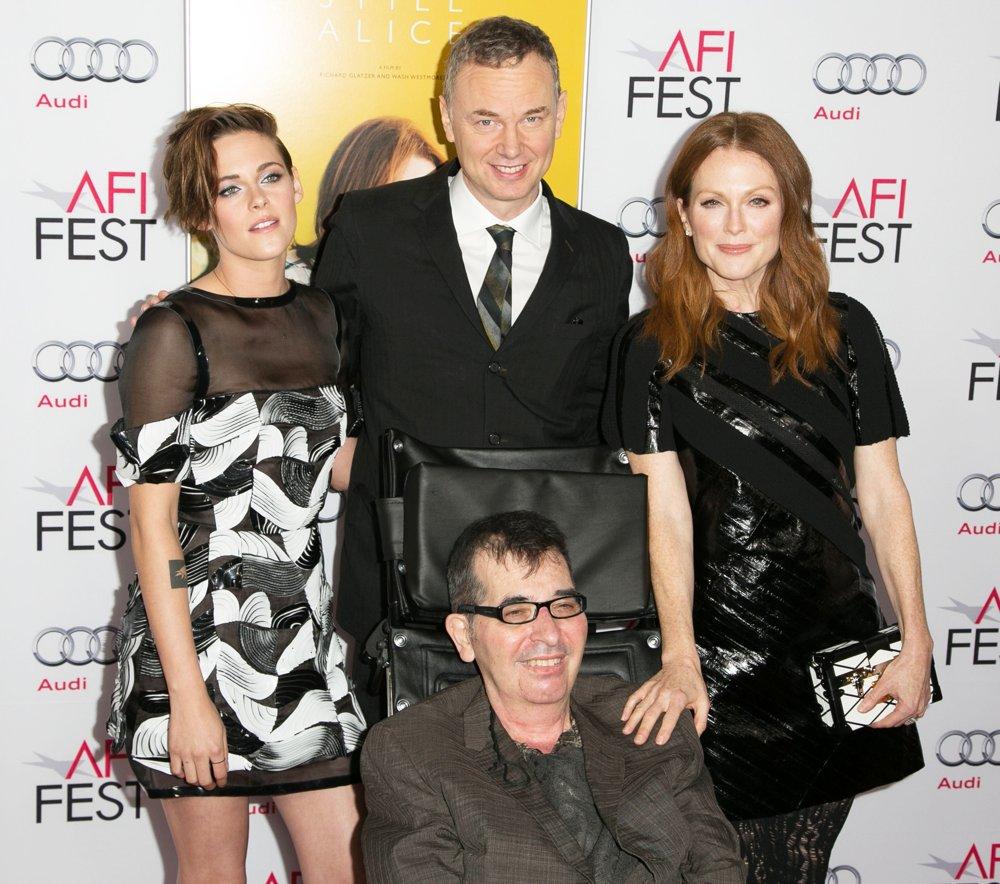 Richard Glatzer, Wash Westmoreland, Kristen Stewart, et Julianne Moore