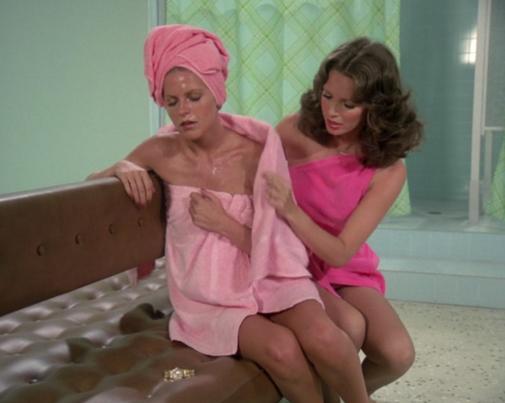 the sauna in Lesbians