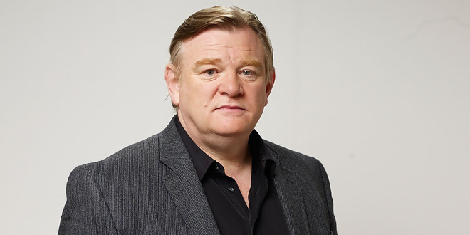 The 63-year old son of father Frank Gleeson and mother Pat Gleeson, 187 cm tall Brendan Gleeson in 2018 photo