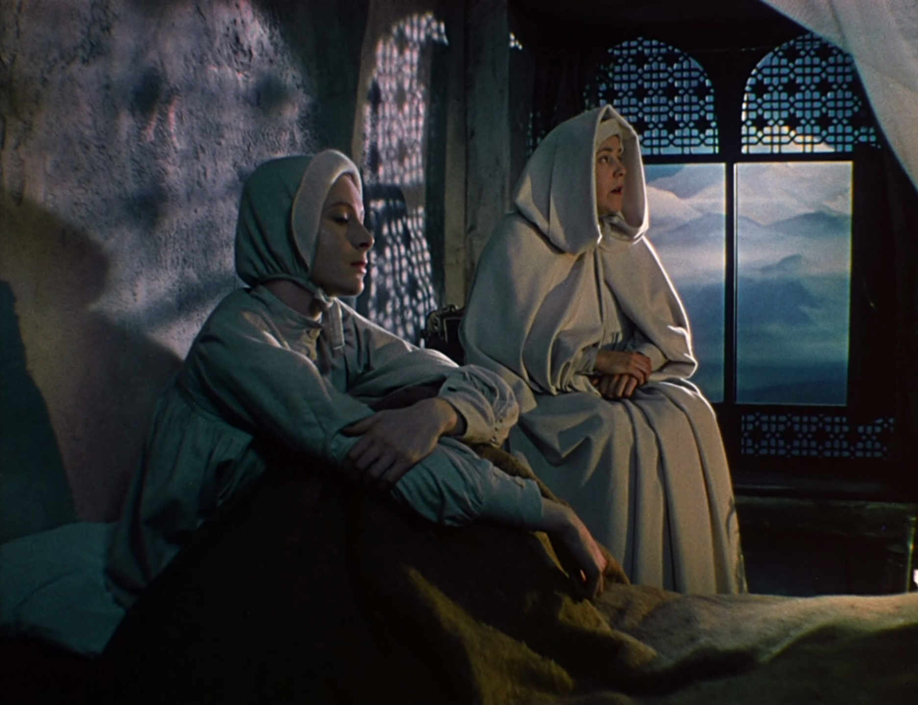 the furniture black narcissus s maddening matte paintings blog  the furniture black narcissus s maddening matte paintings
