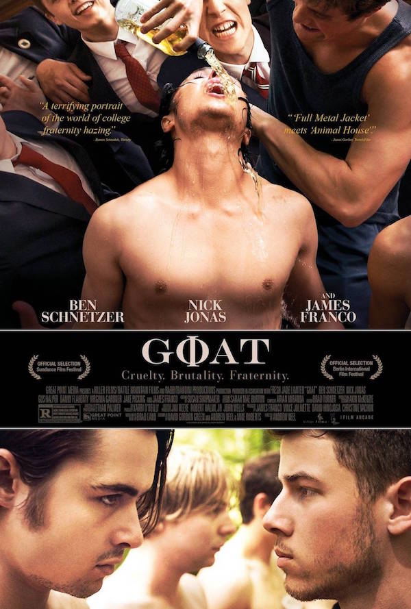 New On Dvd Goat Blog The Film Experience