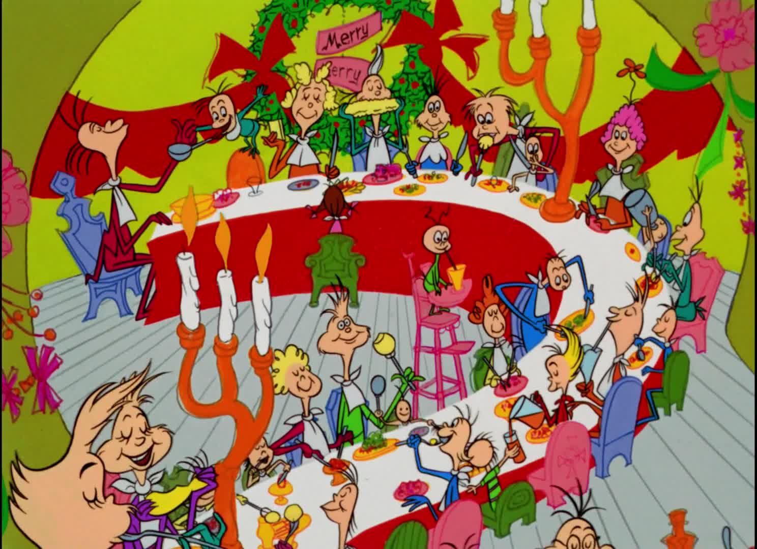 How The Grinch Stole Christmas Characters Cartoon.Christmas Classics How The Grinch Stole Christmas 1966
