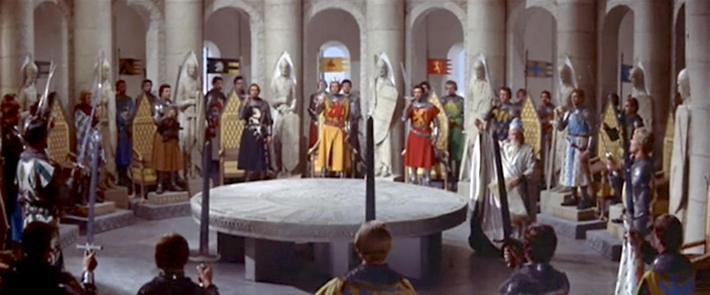 The furniture reframing the legend of king arthur blog - Les chevaliers de la table ronde days of wonder ...