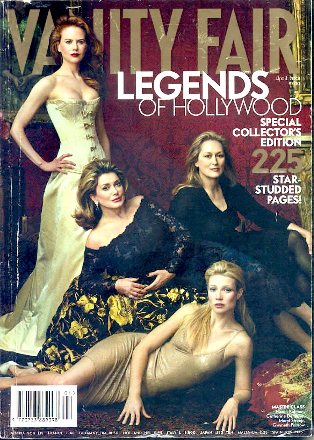 Top 10 Nicole Kidman Vanity Fair Covers Blog The Film Experience