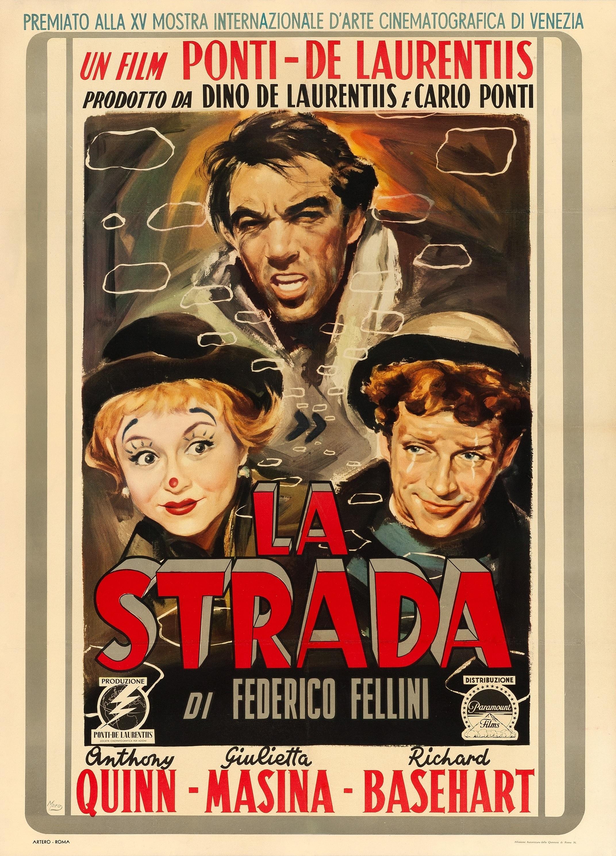 Fellini La Strada